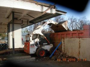 Демонтаж здания-холодильника