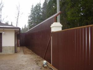 Шумозащитный забор