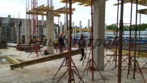 Проект: стены, колонны и перекрытия