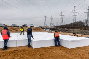 Knauf строит дороги